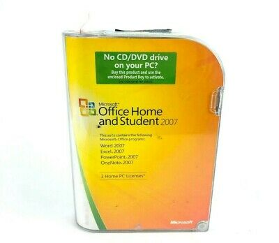 Microsoft Office Home and Student 2007 (3-User)