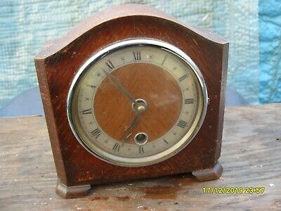 Mantel Clock Davall Clock Time Piece Working  Key Platform Balance
