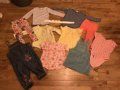 Bundle Of Toddler Girls Clothes Dress Next H&M Mothercare 1.5 - 2 Yrs 18-24 Mth