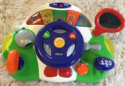 Chicco Talking Driver Toy For Babies & Toddlers - LIGHTLY USED