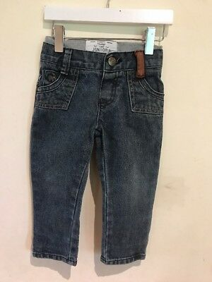 Junior J Lovely Boys Jeans Age 12-18 Months In Excellent Condition