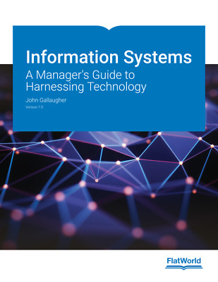 Information Systems: A Manager's Guide to Harnessing Technology, 7ed - EBOOK/PDF