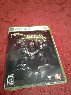 Rare XBOX 360 The Darkness Game BRAND NEW SEALED gift rpg