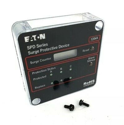 Eaton SPD Series 120kA Surge Protective Device Surge Counter Only