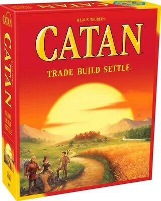 Klaus Teuber's Catan Brand New in Box Sealed