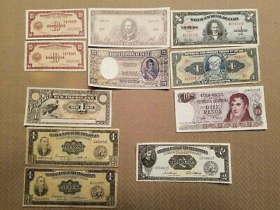 Large World Foreign Currency Banknotes Paper Money Lot from many countries