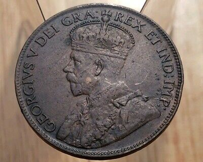 Canada 1920 King George V Large Cent