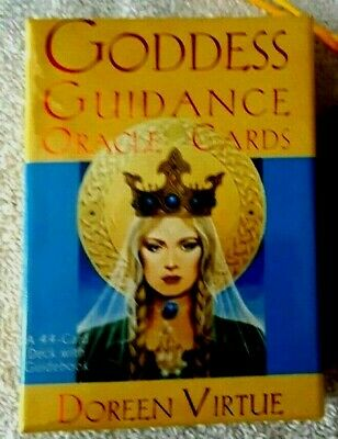 NEW in Box Goddess Guidance Oracle Cards 44~ Rare Out of Print ~ Tarot Mint Cond