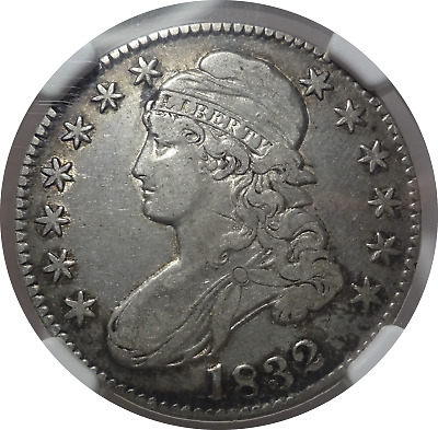 1832 Capped Bust Half Dollar - VF Details NGC