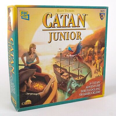 Catan Junior Board Game 1st Edition Used Complete w/ Instructions Very Good