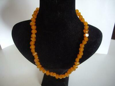 RARE Antique Beautiful  Baltic Amber Necklace - 19.4 gr.