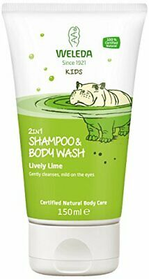 Weleda Kids 2 in 1 Lively Lime Shampoo and Body Wash
