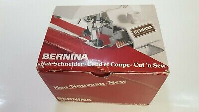 Bernina Cut 'N' Sew Presser Foot 578 Attachment 334146040 Swiss Made With Box