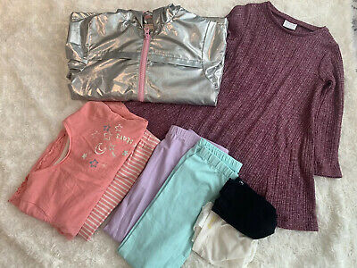 Small Bundle Of Girls Clothes Aged 3-4 Years
