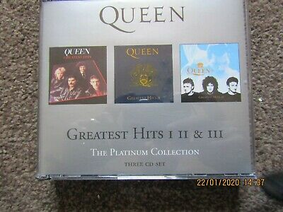 Queen Greatest Hits I Ii & Iiithe Platinum Collection