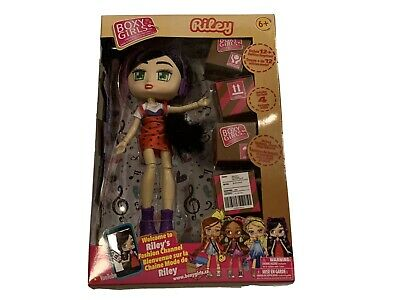 Boxy Girls Riley FASHION Girl Doll 4 Blind Surprise BoxesNew In Box