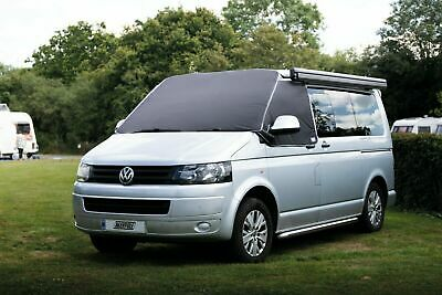 VW Transporter T5 T5.1 T6 Campervan External Windscreen Black Out Thermal Cover