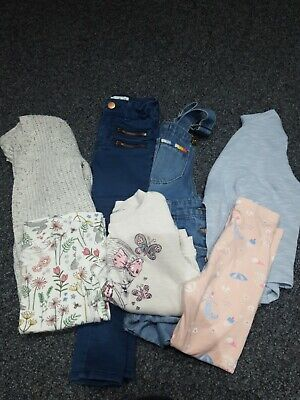 girls aged 4-5-6 bundle of clothes great condition