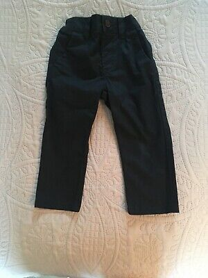 Boys Navy Next Trousers Aged 1.5-2