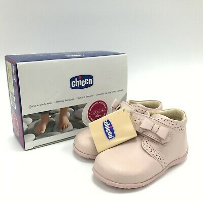 CHICCO Baby Pink High Top Smart Casual Boots Girls UK 6 EU 23 TH431348