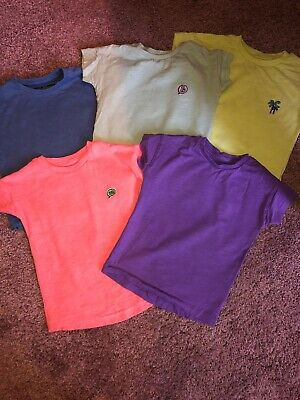 **NEXT**  T-shirt Bundle Age 9-12 Month 5 Pack Baby Boys Clothing