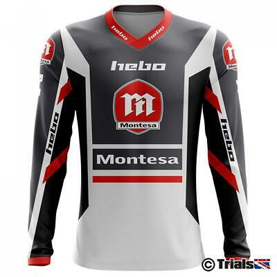 Hebo 2020 Official Montesa Classic 3 Trials Riding Shirt - Limited Edition Grey
