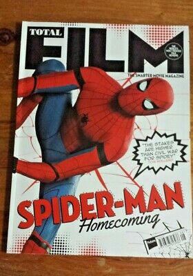 TOTAL FILM - Issue 261 August 2017 - Spider Man Homecoming