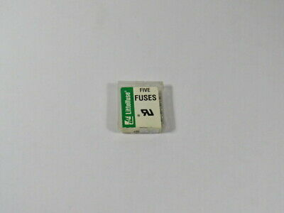 Littelfuse 1AG-1A-301 Fuse 1A 125V Lot of 5  NEW
