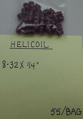 (55) Helicoil 8-32 X 1/4""