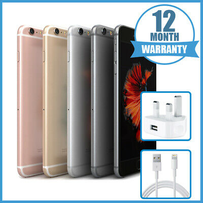 Apple iPhone 6S 16/32/64/128 Space Grey/Silver/Gold/Rose FAST and FREE DELIVERY