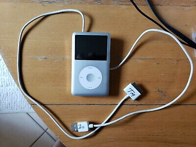 Apple iPod Classic, Model A1238, 6th Generation, Silver (80 GB)