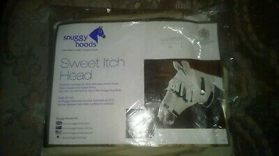 Snuggy Hoods Sweetitch/fly mask S/M with zip