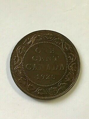 1920 Canada Large Cent Coin   -A41