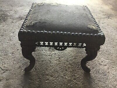 Antique Cast Iron Foot Stool