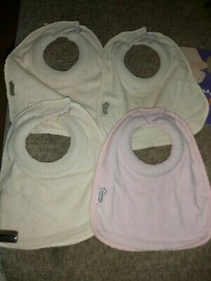 Tommee Tippee Closer To Nature Bibs X4