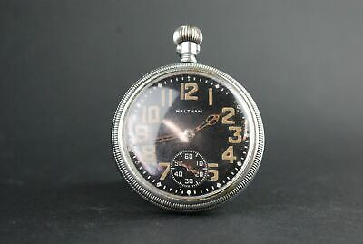 Waltham Pocket Watch 1942 Premier 16S Analogue 4923618 9 Jewels Spares & Repairs