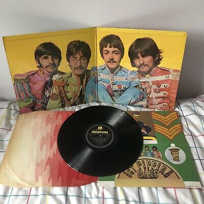 BEATLES Sgt Peppers LP Mono 1967 UK 1st Press FULLY LOADED Very Good Copy!!