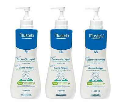 Mustela Baby Gentle Cleansing Gel, 16.9 Oz (Pack of 3)