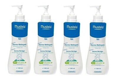 Mustela Baby Gentle Cleansing Gel, 16.9 Oz (Pack of 4)