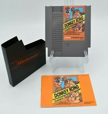 NES Nintendo Donkey Kong Classics With Manual  (1988)