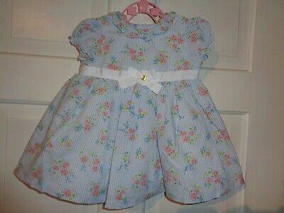 Little Me Girls Pretty Floral Dress & Bloomers - 6 Months