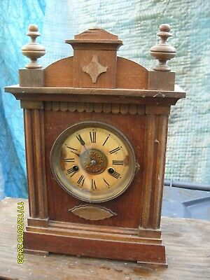 Mantel  Clock Hac  Striking  Clock Working  Key And Pendulum