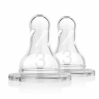 Dr Browns Options Narrow Neck Teat Level 3 6 Months+ 2 Pack