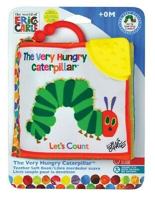 Very Hungry Caterpillar Lets Count Clip On Book