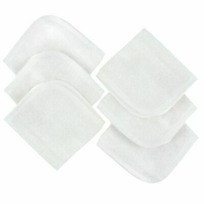 4Baby Wash Cloth Bamboo Cotton 6 Pack