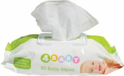 4Baby Wipes 80 Pack