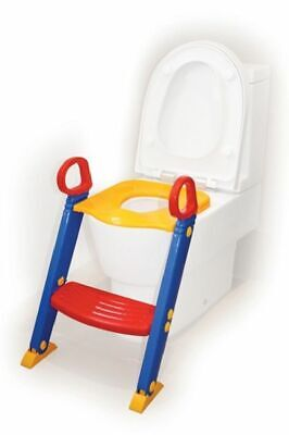 4Baby Toilet Seat With Steps Blue