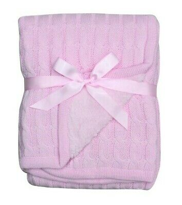 4Baby Cable Blanket Pram
