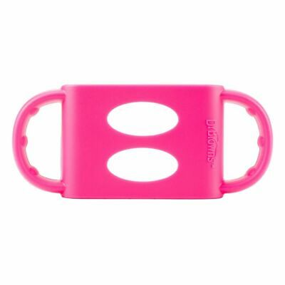 Dr Browns Wide Neck Silicone Handles Pink