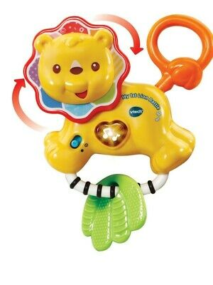 Vtech Baby My 1st Lion Rattle Yellow